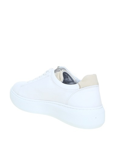 Greyder Greyder Kadın Deri Bağcıklı Sneaker Beyaz